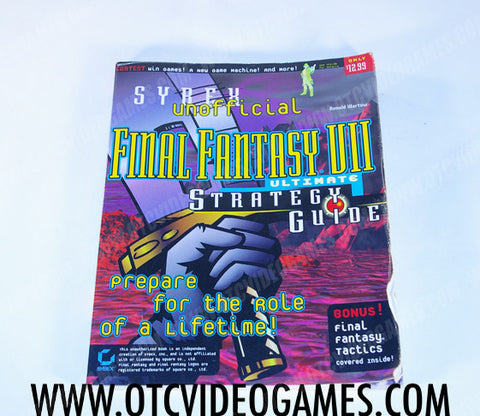 Syrex Unofficial Final Fantasy VII Ultimate Strategy Guide - Off the Charts Video Games