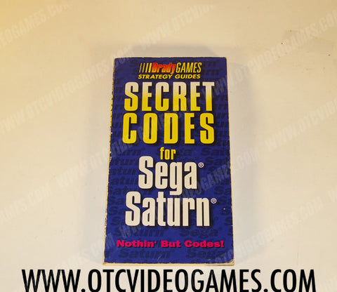 Secret Codes for Sega Saturn - Off the Charts Video Games