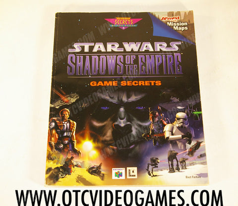 Star Wars Shadows of the Empire Game Secrets Strategy Guide Strategy Guide Off the Charts