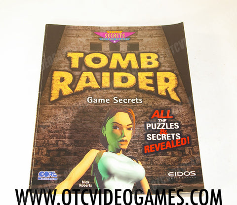 Tomb Raider Game Secrets Strategy Guide Strategy Guide Off the Charts