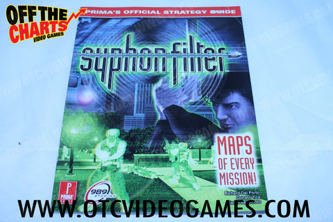 Syphon Filter Strategy Guide - Off the Charts Video Games