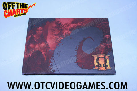 God of War III Art Book Playstation 3 Collectibles Off the Charts