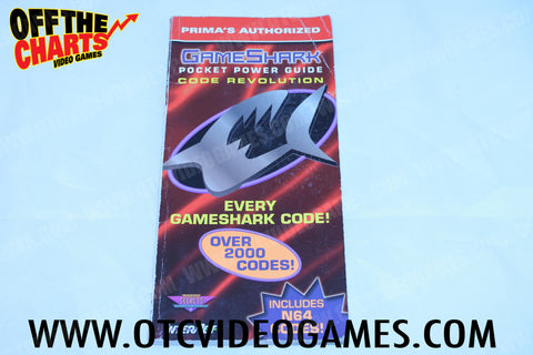 GameShark Pocket Power Guide Code Revolution - Off the Charts Video Games