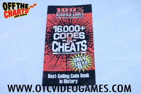16,000 Codes and Cheats Summer 2007 Edition Strategy Guide Strategy Guide Off the Charts