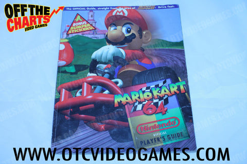 Mario Kart 64 Official Nintendo Player's Guide - Off the Charts Video Games