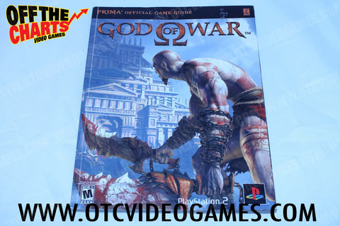God of War Strategy Guide Strategy Guide Strategy Guide Off the Charts
