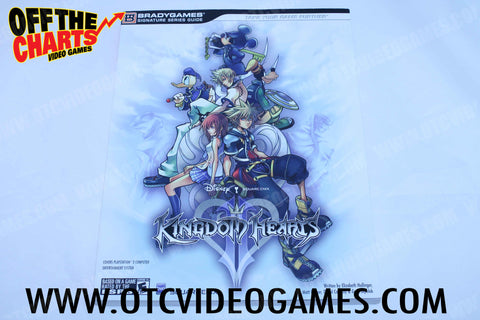 Kingdom Hearts II Strategy Guide - Off the Charts Video Games