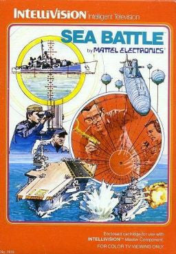 Sea Battle Intellivision Game Off the Charts