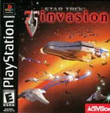 Star Trek Invasion Playstation Game Off the Charts