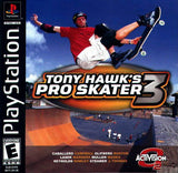 Tony Hawk's Pro Skater 3 Playstation Game Off the Charts