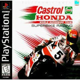 Castrol Honda Superbike Racing Playstation Game Off the Charts