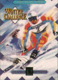 Winter Challenge Sega Genesis Game Off the Charts