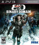 Binary Domain Playstation 3 Game Off the Charts