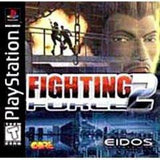 Fighting Force 2 Playstation Game Off the Charts