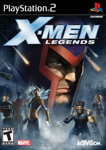 X-Men Legends Playstation 2 Game Off the Charts