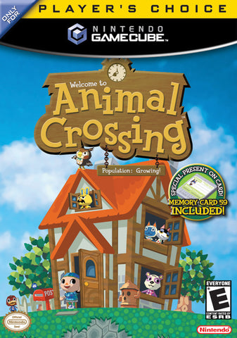 Animal Crossing Nintendo Gamecube Games Off the Charts