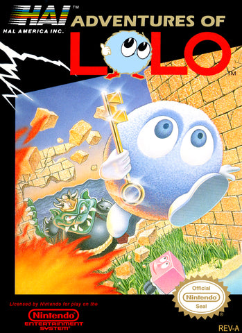 Adventures of Lolo NES Game Nintendo NES Game Off the Charts