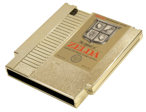 The Legend of Zelda - Gold Cartridge Only Nintendo NES Game Off the Charts