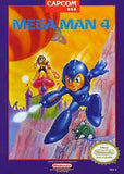 Mega Man 4 Nintendo NES Game Off the Charts