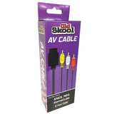 AV Cable for SNES / N64 / GC Super Nintendo Accessory Off the Charts