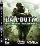 Call of Duty 4: Modern Warfare Playstation 3 Game Off the Charts