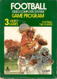 Football Atari 2600  Off the Charts