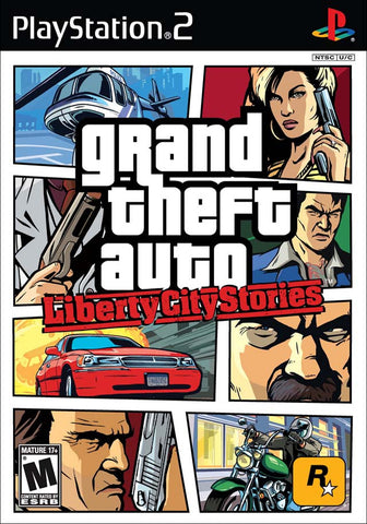 Grand Theft Auto: Liberty City Stories Playstation 2 Game Off the Charts
