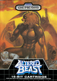 Altered Beast Sega Genesis Game Off the Charts