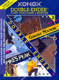 Ghost Manor Spikes Peak Double Ender Atari 2600 Game Off the Charts