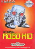 Atomic Robo-Kid Sega Genesis Game Off the Charts