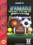 Jeopardy Sports Edition Sega Genesis Game Off the Charts