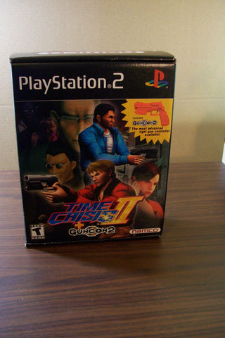 Time Crisis II with Guncon 2 Boxed Set Playstation 2 Game Off the Charts