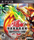 Bakugan Defenders Of The Core Playstation 3 Game Off the Charts