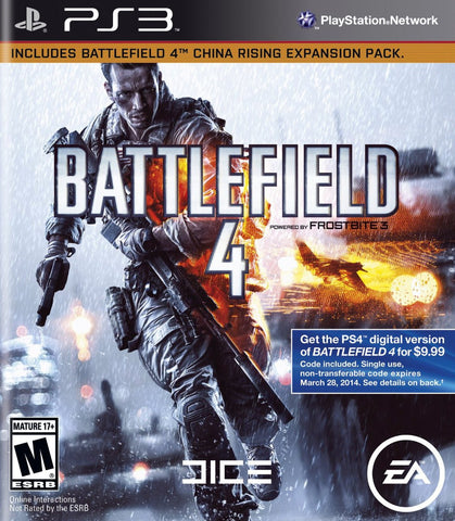 Battlefield 4 Playstation 3 Game Off the Charts