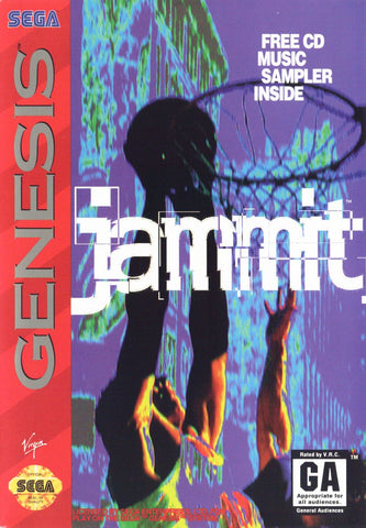 Jammit Sega Genesis  Off the Charts