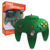 Old Skool Nintendo 64 Controller in Green