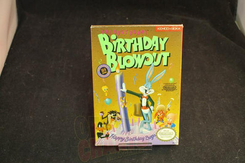Bugs Bunny Birthday Blowout Complete in Box Nintendo NES - Off the Charts Video Games