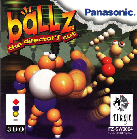 Ballz The Director's Cut 3DO Game Off the Charts