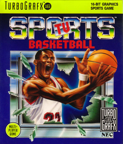 Sports TV Basketball TurboGrafx-16  Off the Charts