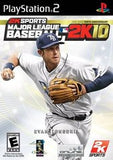 MLB 2K10 Playstation 2 Game Off the Charts