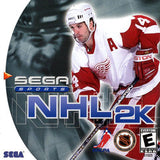 NHL 2K Sega Dreamcast Game Off the Charts