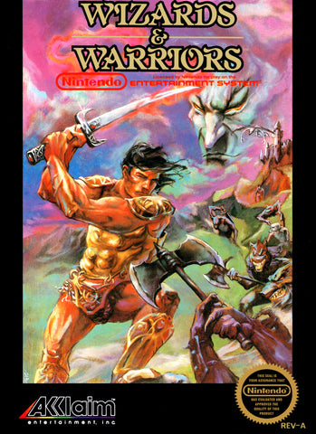 Wizards & Warriors Nintendo NES Game Off the Charts