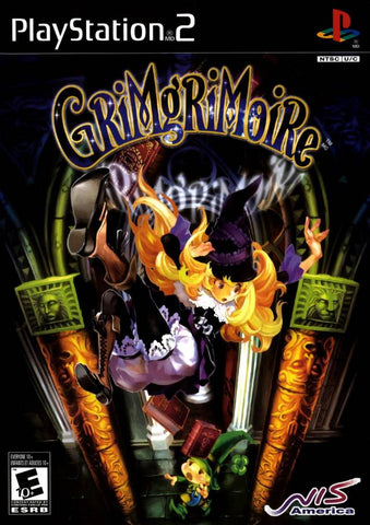 Grimgrimoire Playstation 2 Game Off the Charts