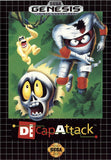 Decap Attack Sega Genesis Game Off the Charts