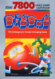 Dig Dug Atari 7800 Game Off the Charts