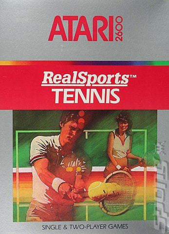 Realsports Tennis Atari 2600 Game Off the Charts