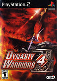 Dynasty Warriors 4 Playstation 2 Game Off the Charts