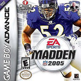 Madden 2005 Game Boy Advance Game Off the Charts