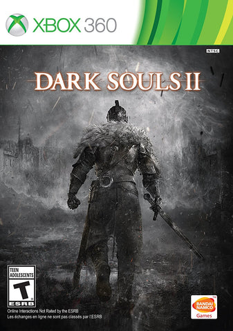 Dark Souls 2 - Case and Game