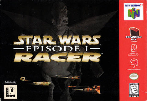 Star Wars Episode 1 Racer - Cartridge Only - Off the Charts Video Games